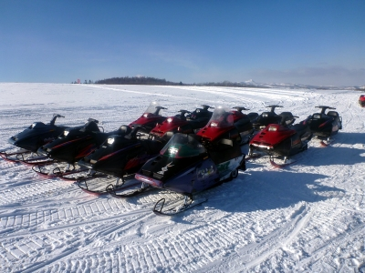 NOASC Snowmobile Tour